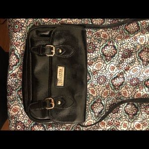 Kenneth Cole Reaction Patent Leather Cross Body